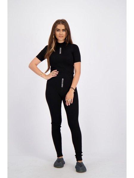 Reinders Livia Knitwear Broek - True Black