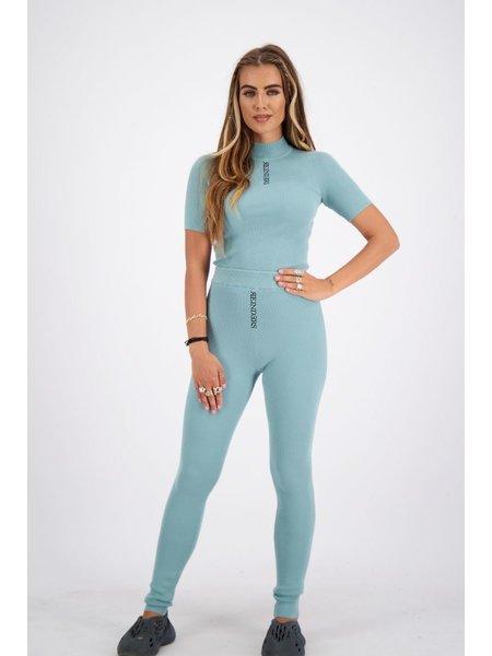 Reinders Livia Knitwear Broek - Mineral Blue