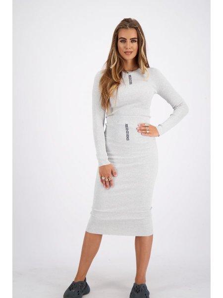 Reinders Livia Skirt Knitwear - Quiet Gray