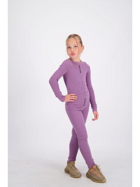 Reinders Kids Livia Top Knitwear Long Sleeves - Grapeade