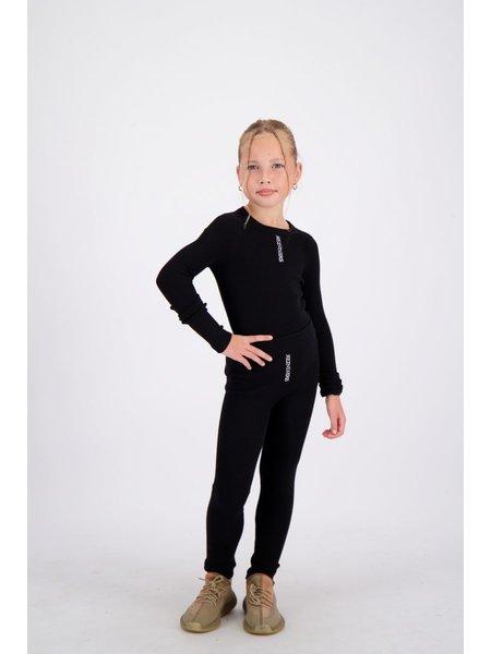 Reinders Kids Livia Pants Knitwear - True Black