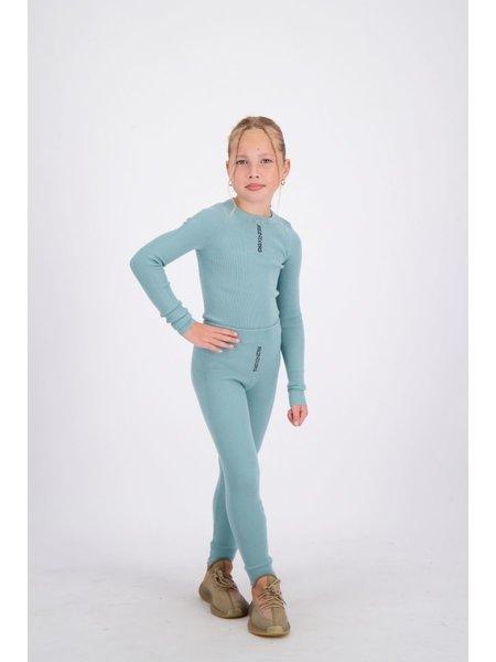 Reinders Kids Livia Pants Knitwear - Mineral Blue