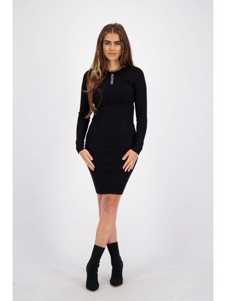Reinders Livia Knitwear Jurk - True Black
