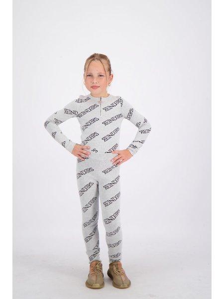 Reinders Kids All Over Print Broek - Quiet Gray