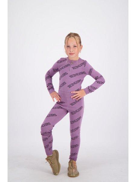 Reinders Kids Pants All Over Print - Grapeade