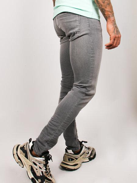 2LEGARE 2LEGARE Noah Stretch Jeans - Lichtgrijs