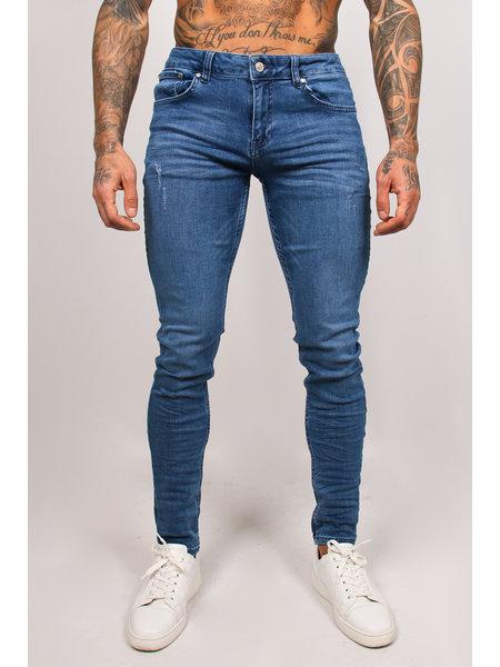 2LEGARE Noah Stretch Jeans - Lichtblauw