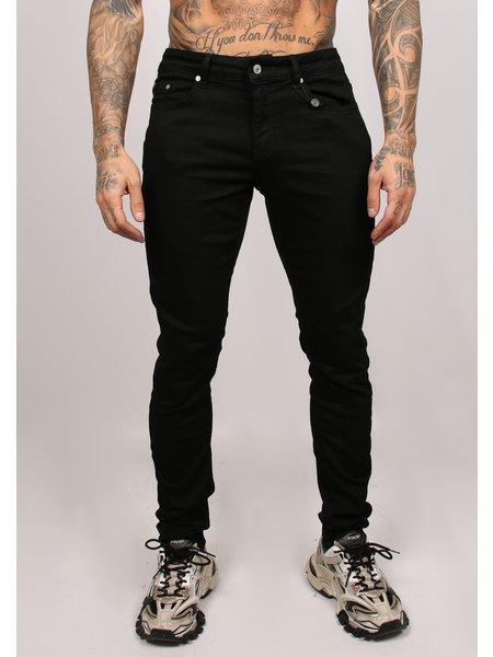 2LEGARE Noah Stretch Jeans - Ultra Zwart