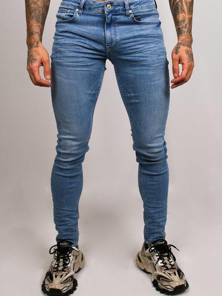 2LEGARE Noah Stretch Jeans - Vintage Blue