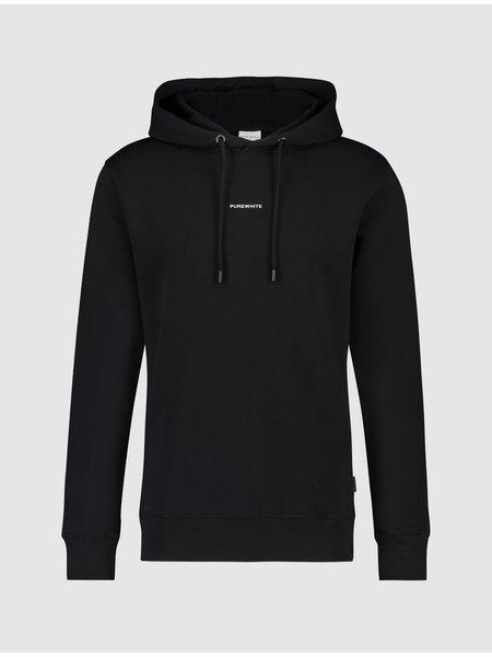 Purewhite Pure Logo Hoodie - Zwart