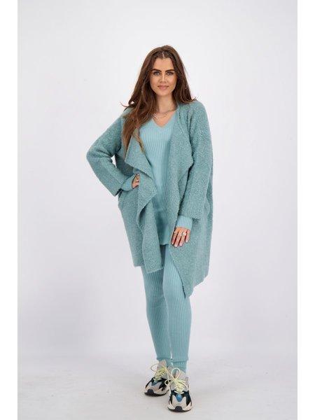Reinders OS Vest Short - Mineral Blue