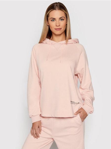 NA-KD Good Will Printed Sweatshirt - Roze