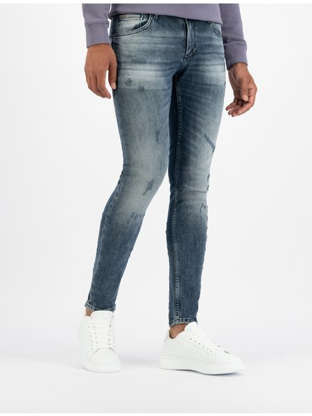 Purewhite The Dylan 705 Jeans - Mid Blue