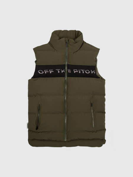 Off The Pitch The Soul Down Gilet - Olive