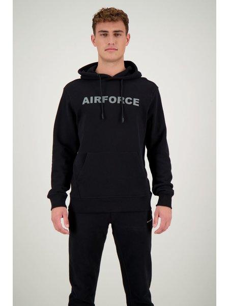 Airforce Hoodie - Zwart