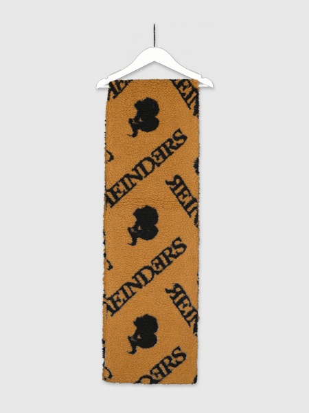 Reinders Scarf Teddy With All Over Print - Almond