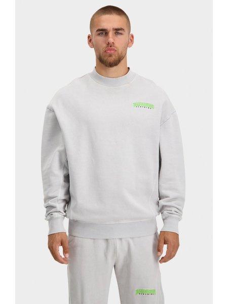 Black Bananas Unisex Noise Sweater - Washed Grey