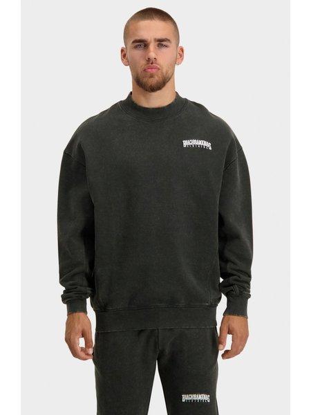 Black Bananas Unisex Noise Sweater - Washed Black