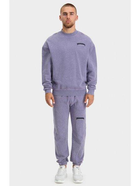 Black Bananas Unisex Noise Sweater - Washed Purple