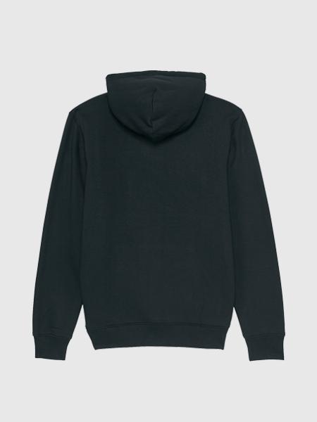 Baron Filou Baron Filou Organic Hoodie XI - Zwart