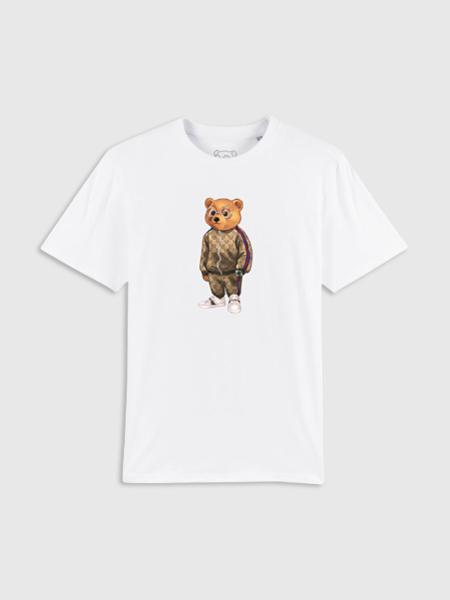 Baron Filou Organic T-Shirt V - Wit