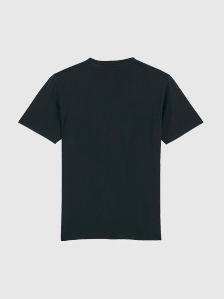 Baron Filou Baron Filou Organic T-Shirt V - Zwart