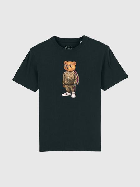 Baron Filou Organic T-Shirt V - Zwart