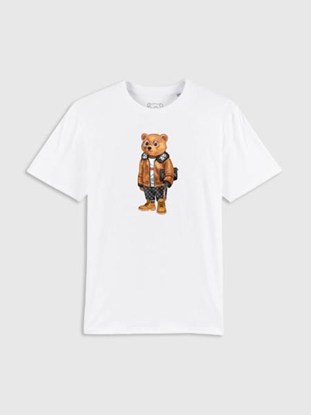 Baron Filou Organic T-Shirt VII - Wit
