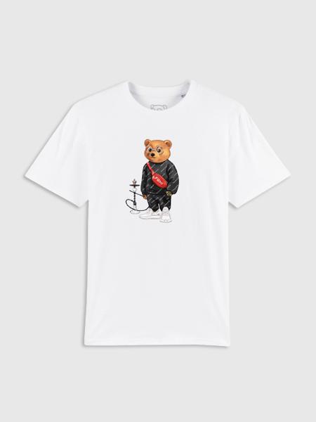 Baron Filou Organic T-Shirt Filou XI - Wit