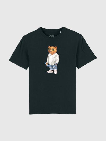 Baron Filou Organic T-Shirt XVIII - Zwart