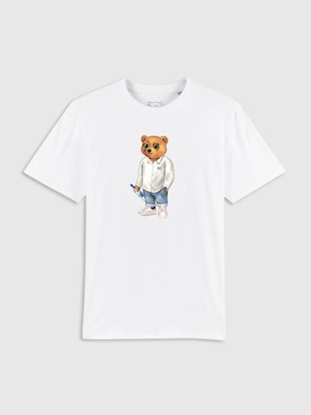 Baron Filou Organic T-Shirt XVIII - Wit