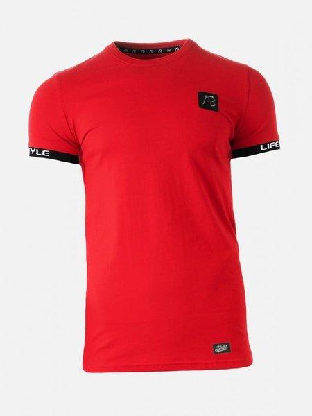 AB Lifestyle AB Lifestyle Luigi T-Shirt - Rood