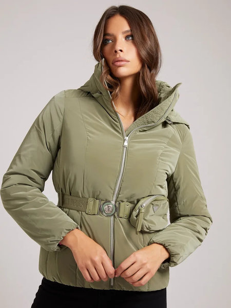 Guess Bella Jacket - Leaf Green