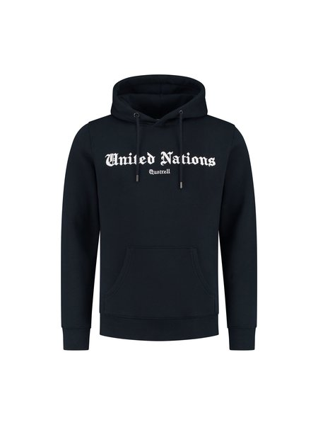 Quotrell United Nations Hoodie - Navy