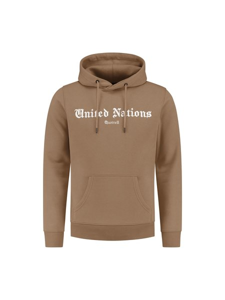 Quotrell United Nations Hoodie - Bruin