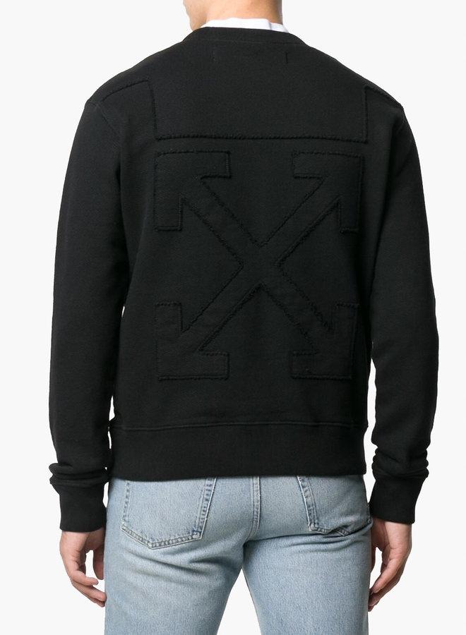 Off-White Debossed Arrow Sweatshirt