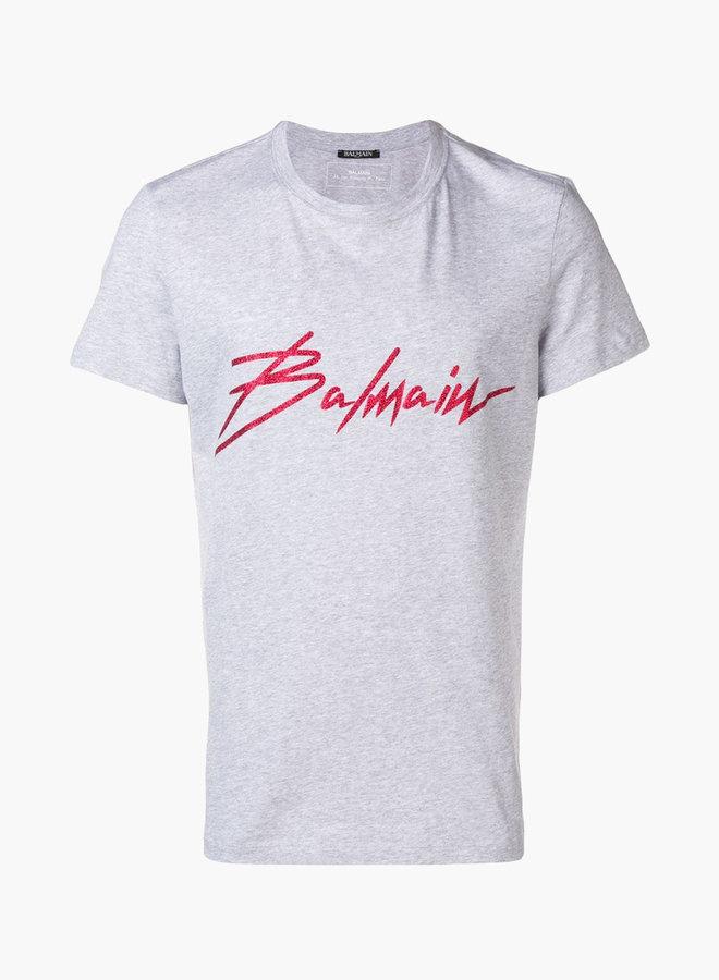 Balmain Scripture T-Shirt