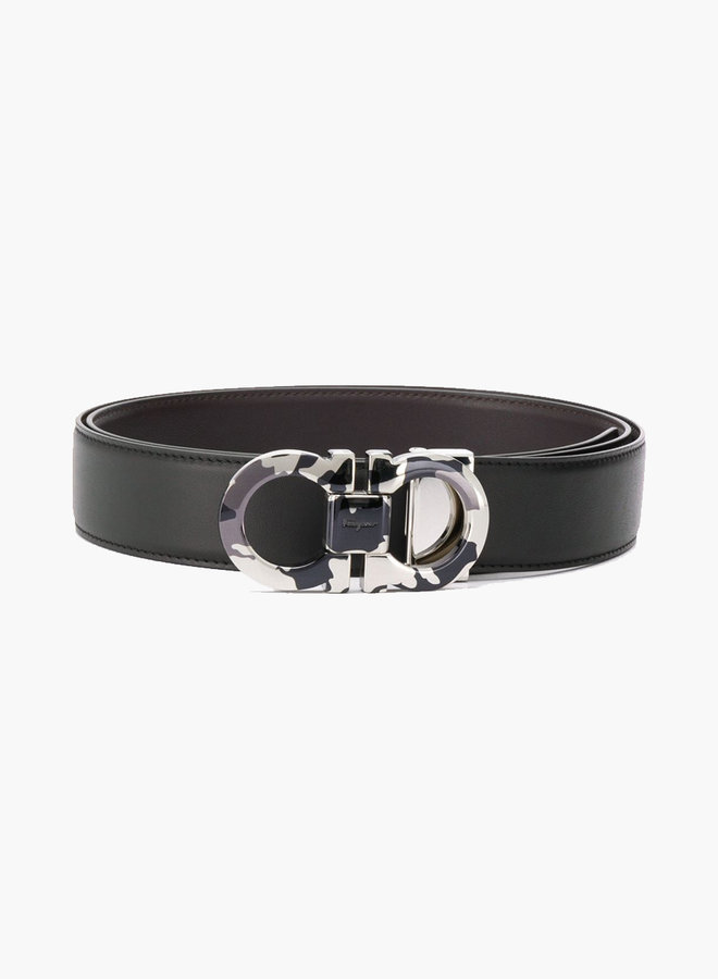 Salvatore Ferragamo Camouflage Buckle Belt