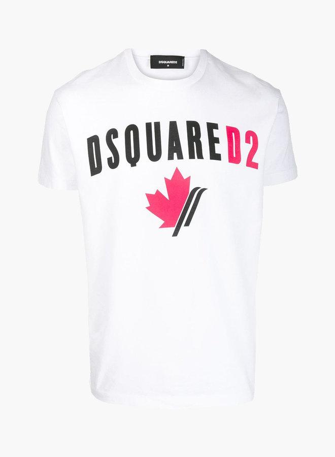 Dsquared2 Maple Leaf Logo T-shirt