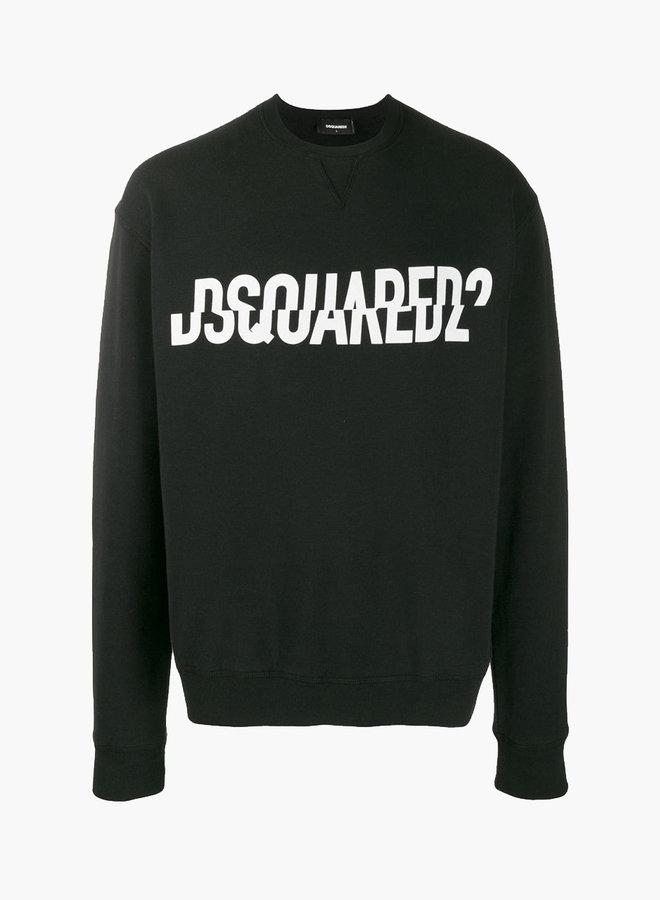 Dsquared2 Cut Logo Sweatshirt