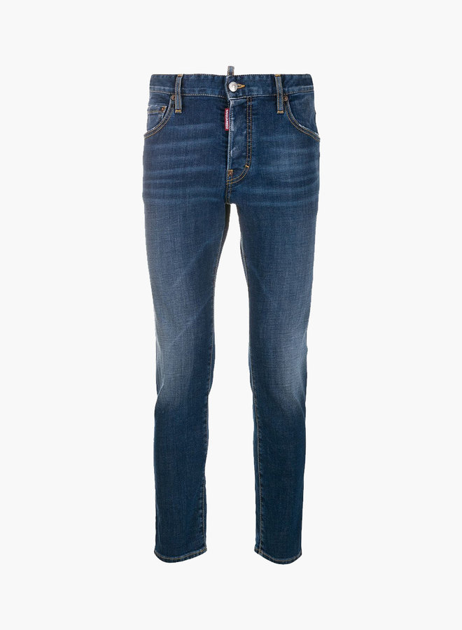 Dsquared2 Light Wash Skater Jeans