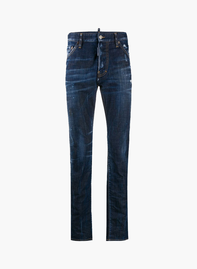 Dsquared2 Bleached Stripes Cool Guy Jeans