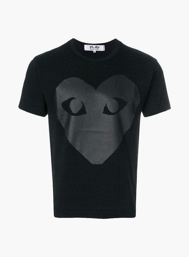 Comme des Garçons PLAY Black Big Heart T-Shirt
