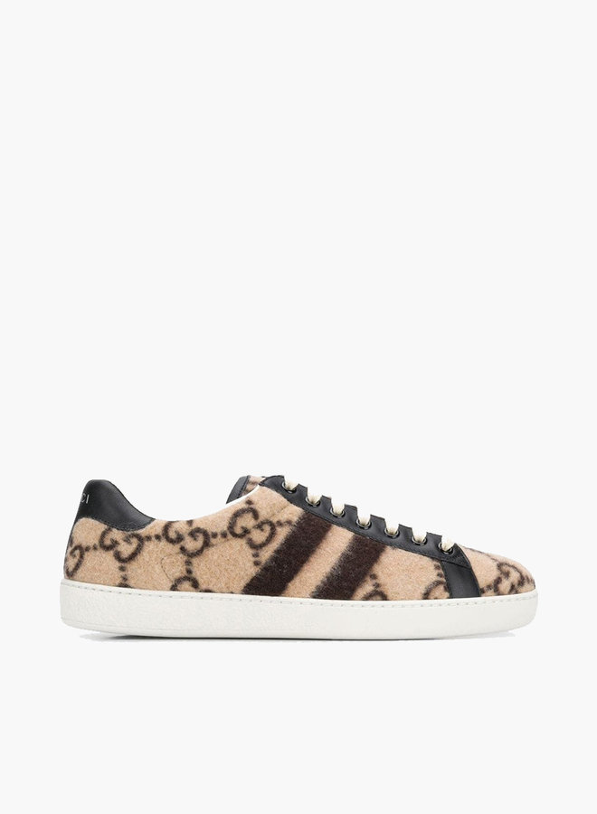 Gucci Ace GG Wool Sneaker