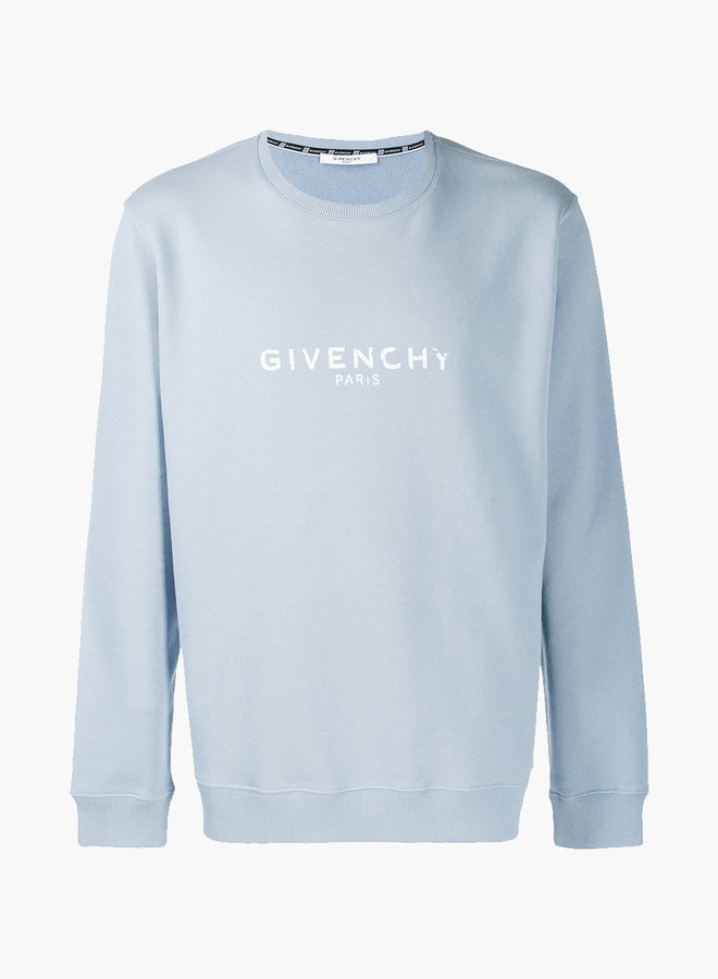 Givenchy destroyed letters sweatshirt