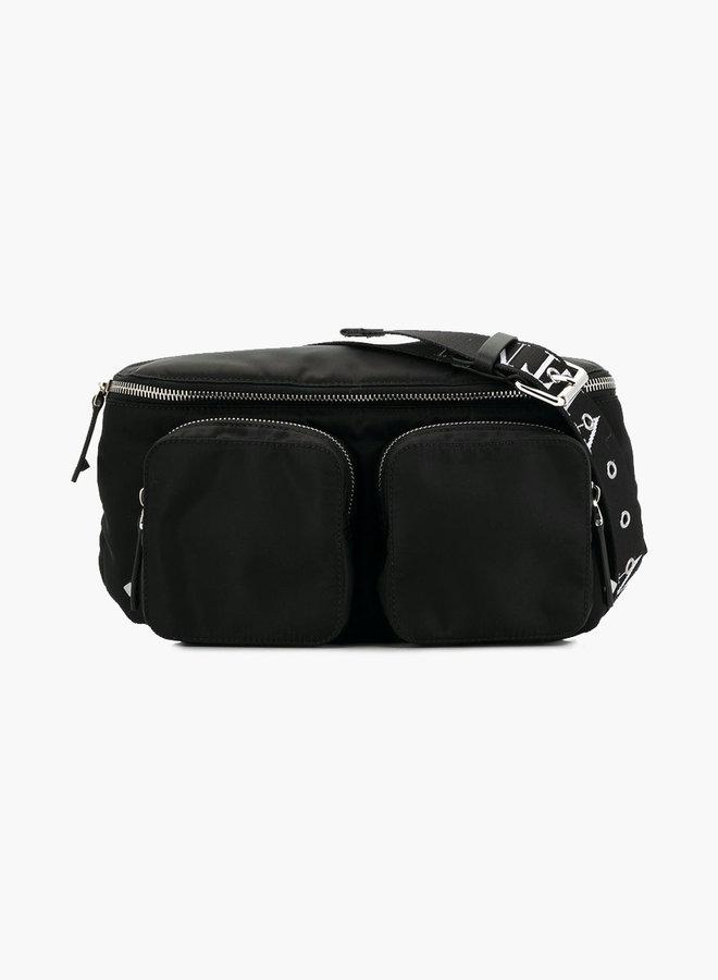 Valentino Double Pocket Cross Body Bag