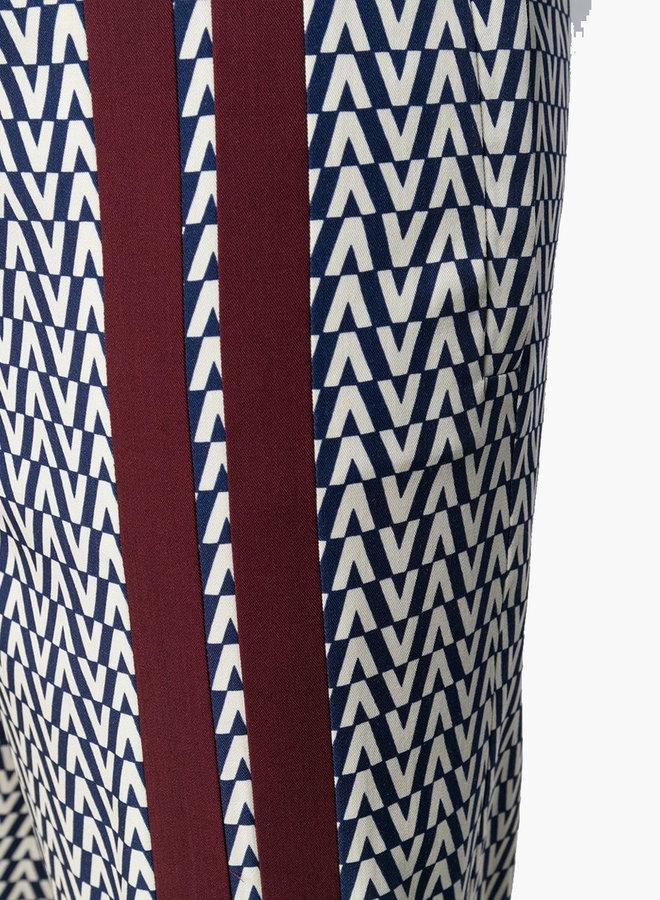 Valentino V Print Trousers