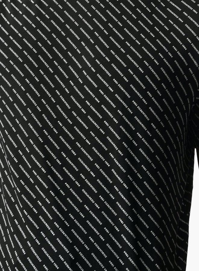 Dsquared2 Allover Mini Logo T-Shirt