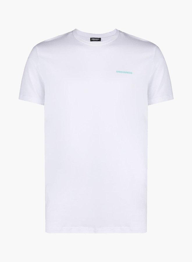 Dsquared2 Blue Chest Logo T-shirt