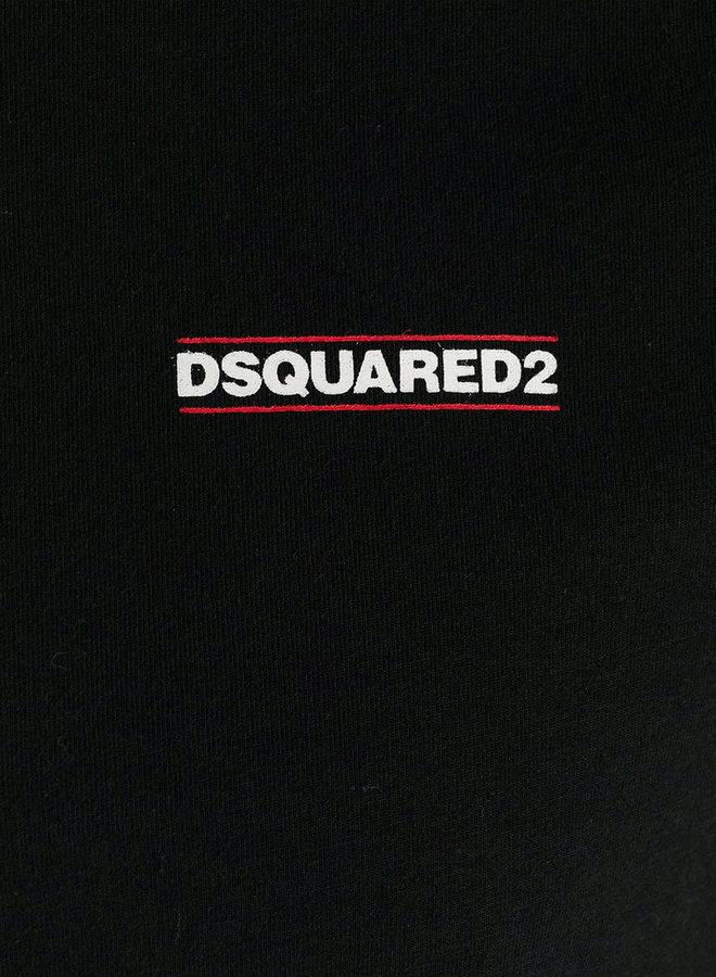 Dsquared2 White Chest Logo T-shirt